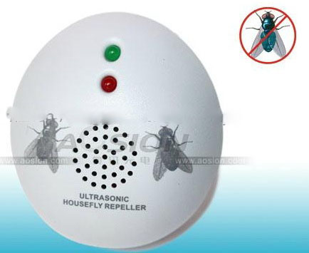 Ultrasonic repellent houseflies.